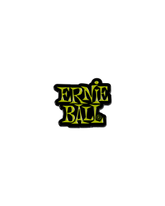Ernie Ball Green Stacked Logo Enamel Pin