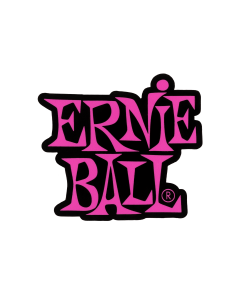 Stacked Pink Ernie Ball Logo Sticker