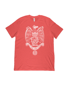 Ernie Ball 1962 Strings and Things Red T-Shirt